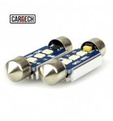 Bec led C5W cu 3 SMD 3030 Can-Bus 39 mm
