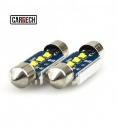 Bec led C5W 3 SMD CREE Can-Bus 9w 36mm