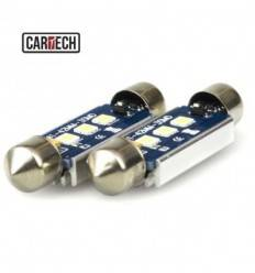 Bec led C5W cu 3 SMD 3030 Can-Bus 41 mm